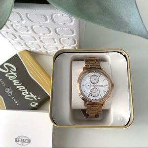 Fossil ES3353 Chelsey Wrist Watch Rose Gold Tone